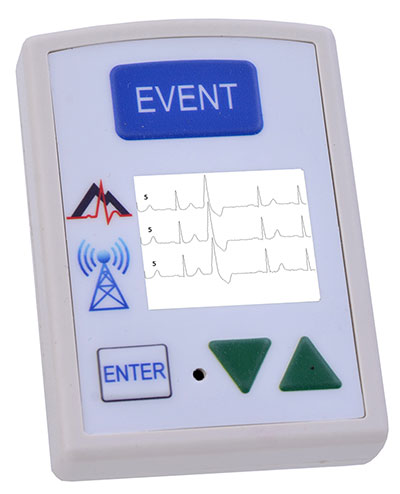 NorthEast Monitoring DR300 Holter monitor and Event Recorder using Bluetooth wireless capabilities